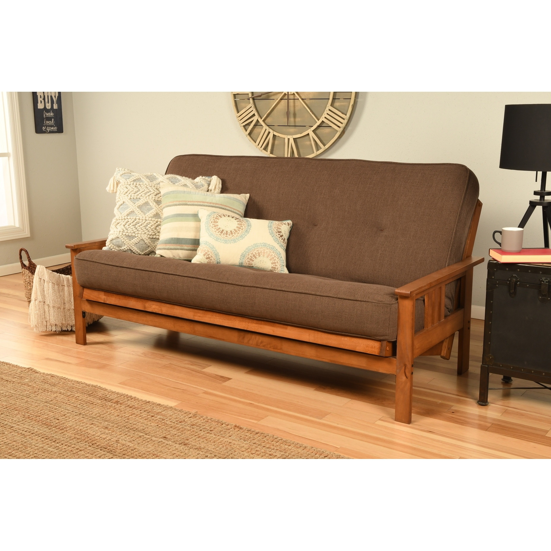 Picture of: Porch Den Kern Full Size Futon Frame And Mattress Set On Sale Overstock 7734907
