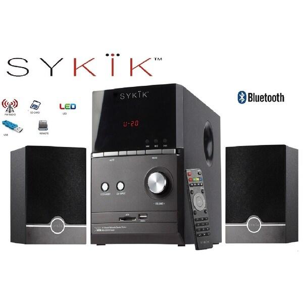 """Sykik Sound SPME51 , powerful Bluetooth sound system, with 5"""" su"""
