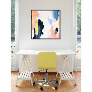 Link to Oliver Gal 'Happy Thoughts Spring' Abstract Framed Wall Art Print Similar Items in Accent Lamps