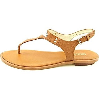 Michael Kors Women's Plate Leather Thong Sandals