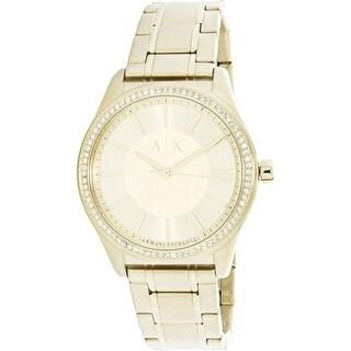 Armani Exchange Women's AX5441 Gold Stainless-Steel Fashion Watch
