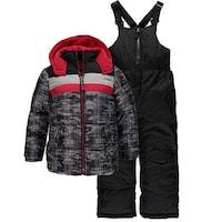 f58ab3741b9b Shop Weather Proof Baby Boys 12-24 Months Panel Snowsuit - Free ...