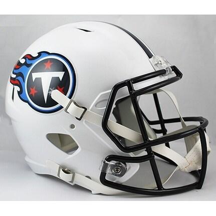 Tennessee Titans Riddell Full Size Deluxe Replica Speed Football Helmet