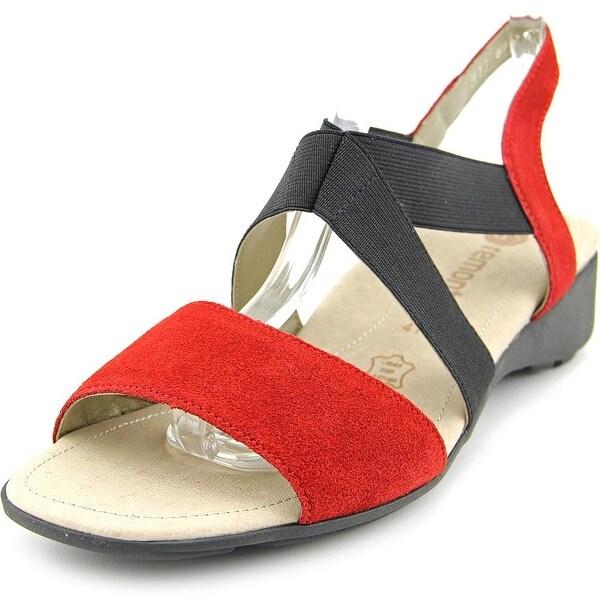 Remonte Reik Open-Toe Suede Slingback Sandal