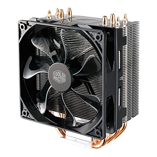 Cooler Master Hyper 212 LED CPU Cooler with PWM Fan Four Direct Contact Heat Pi
