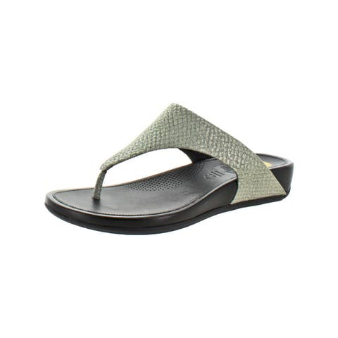 607bd875c305 Fitflop Womens Banda Thong Sandals Wedge