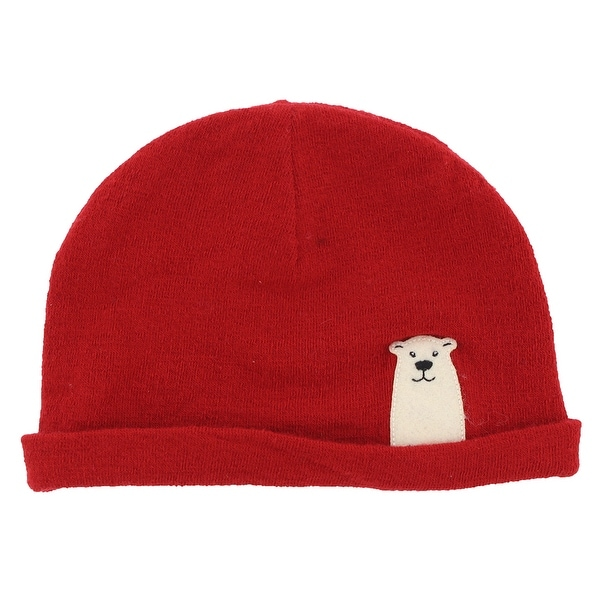 1586e457d Shop The North Face Baby Boys Friendly Faces Polar Bear Beanie Red ...