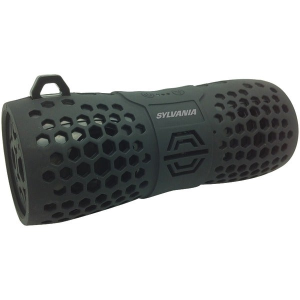 Sylvania Sp332 -Black Water-Resistant Portable Bluetooth(R) Speaker (Black)