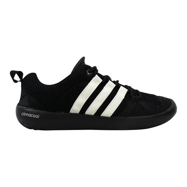online retailer 93512 5c5db Shop Adidas Climacool Boat Lace Black/White-Metallic Silver ...