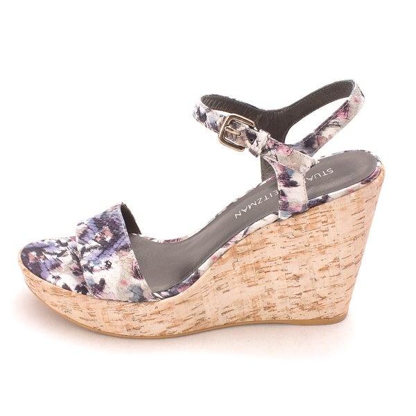 Stuart Weitzman Womens Single Open Toe Casual Ankle Strap Sandals - 9.5