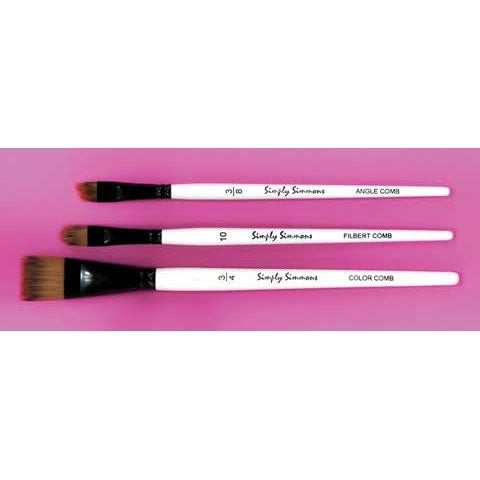 "Robert Simmons - Simply Simmons Short Handle Brush - Sword - 1/2"""