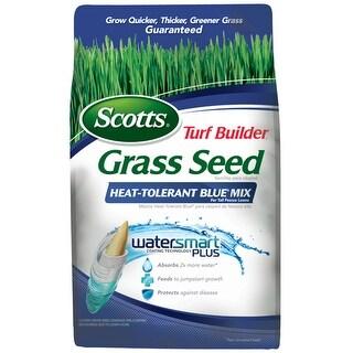 Scotts 18302 Turf Builder Grass Seed Heat-Tolerant Blue Mix, 7 Lbs