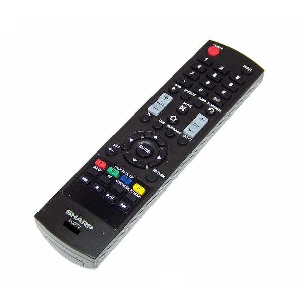 OEM Sharp Remote Control Originally Shipped With: LC-55LE643, LC-55LE643U, LC-65LE643, LC-65LE643U