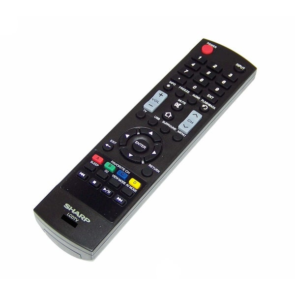 OEM Sharp Remote Control Originally Shipped With: LC55LE643, LC55LE643U, LC65LE643, LC65LE643U