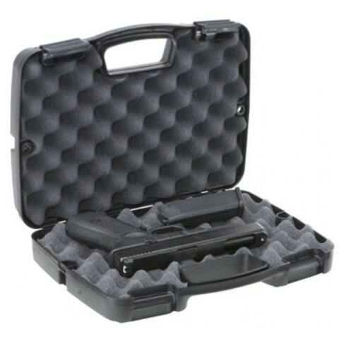 Plano 10-10137 SE Series Single Scoped Pistol Case, Black
