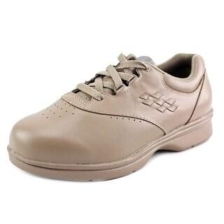 Propet Vista Walker Women  Round Toe Leather Brown Sneakers