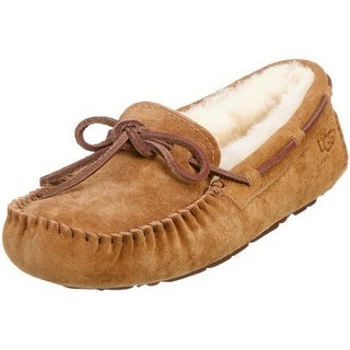 Ugg Australia Women's Dakota Chestnut Suede Slipper 9 M Us