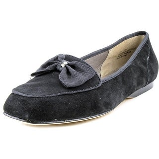 Array Leah W Square Toe Suede Loafer