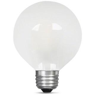 Feit Electric BPG2560/F/850/LED Dimmable Frost LED Light Bulb, 120V, 500 Lumens