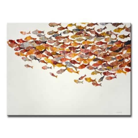 'Heatwave' Wrapped Canvas Wall Art by Norman Wyatt Jr.