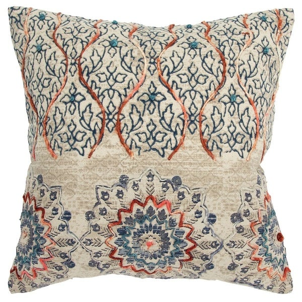 CLEARANCE 12x12 Pillow Covers Decorative Home Decor Paisley Designer Throw Pillow Covers Journey Fruity
