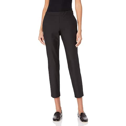 Theory Womens Theory Womens Approach Thaniel Pants Black Classic Trousers