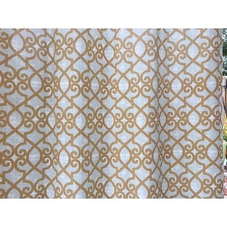 Madison Park Crystal Printed Outdoor Grommet Top Window Curtain Panel