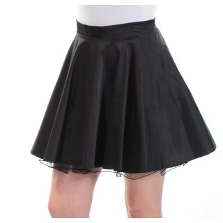 Womens Black Party Skirt Size 9