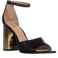 Aldo Nilia Ankle Strap Dress Sandals, Black - 10 us / 41 eu