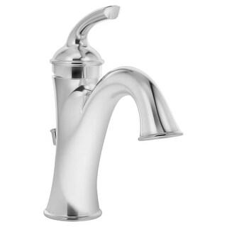 Symmons SLS-5512-1.5 Elm Single Hole Bathroom Faucet - Includes Metal Drain Assembly