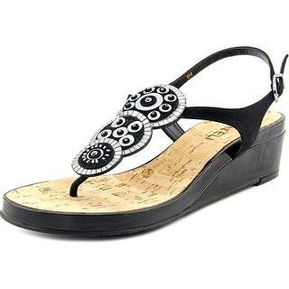 Vaneli Kalinda Women W Open-Toe Suede Slingback Sandal