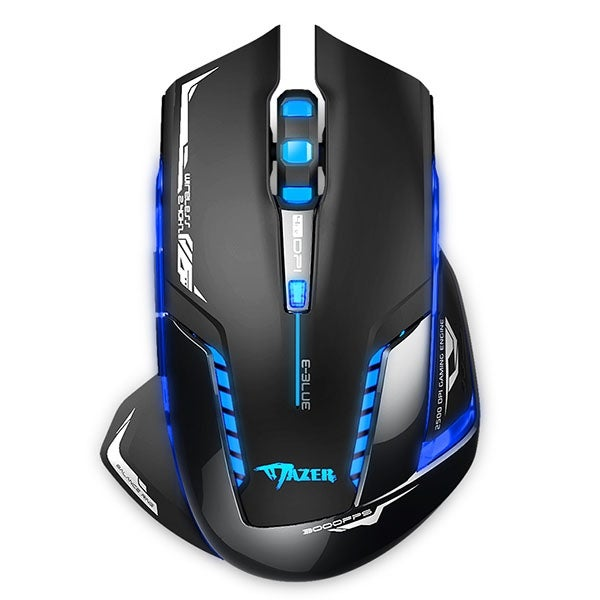 2.4G Wireless Mouse Gaming Mouse 500//1000//1800//2500 DPI Adjustable for Computer