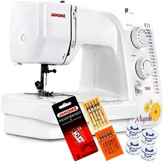 Janome Magnolia 7318 Sewing Machine With Free 4-Piece VIP Package
