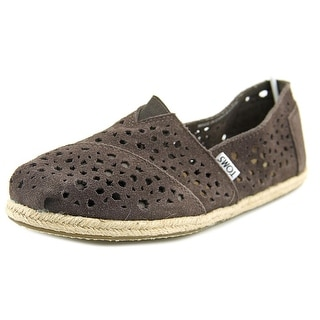 Toms Bronte Round Toe Suede Loafer
