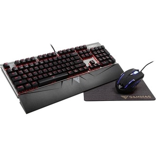 458895c0405 Shop GAMDIAS Responsive Lighting Mechanical Gaming Keyboard with Demeter E2  Optical Mouse and NYX E1 Mouse Mat (HERMES E1) - Free Shipping Today -  Overstock ...