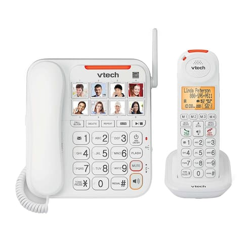 VTech SN5147 Amplified Corded / Cordless Digital Answering System