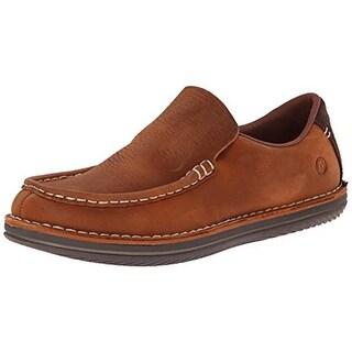 Merrell Mens Leather Contrast Trim Loafers - 7.5 medium (d)