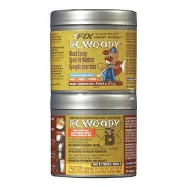 PC Woody 6Oz Wood Epoxy Paste
