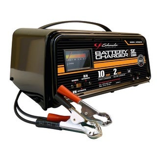 Schumacher SE-520MA Fully Automatic/Manual Dual-Rate With LED Charger, 2/10 Amp