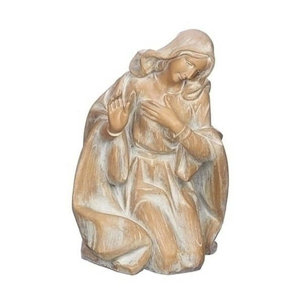 """34"""" Scale Wood Carve Mary - N/A"""