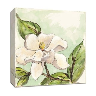 "PTM Images 9-153451  PTM Canvas Collection 12"" x 12"" - ""Magnolia I"" Giclee Magnolias Art Print on Canvas"