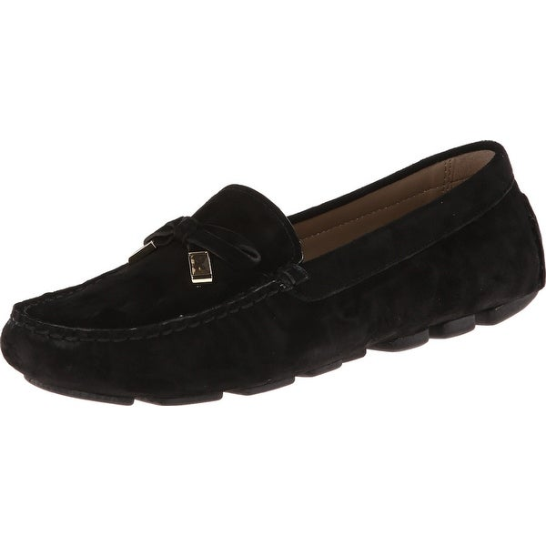 Michael Kors NEW Black Shoes Size 9.5M Loafers Suede Flats