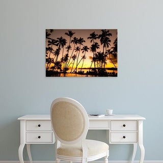 Easy Art Prints Douglas Peebles's 'Fiji' Premium Canvas Art