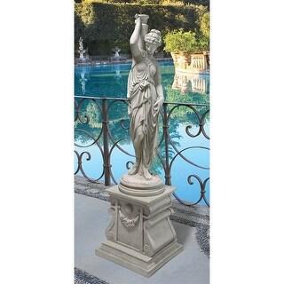 Design Toscano Dione, the Divine Water Goddess Garden Statue: Grande