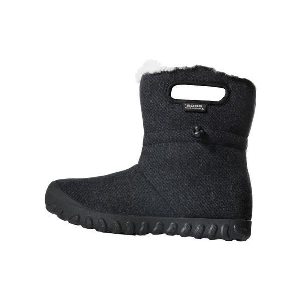 Bogs Outdoor Boots Womens B-Moc Wool Faux Fur Lining Waterproof 72106