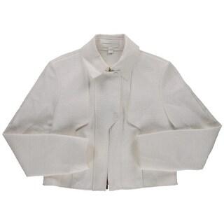 BOSS Hugo Boss Womens Textured Long Sleeves Blazer - 6