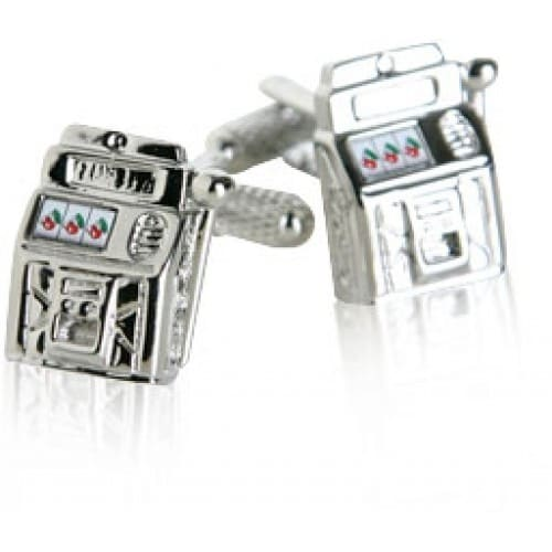 Slot Machine Jackpot Las Vegas Casino Gamble Cufflinks
