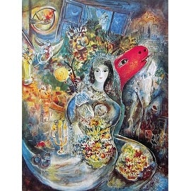Bella, Limited Edition, Offset Lithograph, Marc Chagall