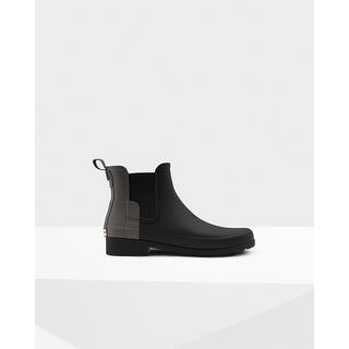 Hunter Womens Two Tone Original Refined Chelsea Boots
