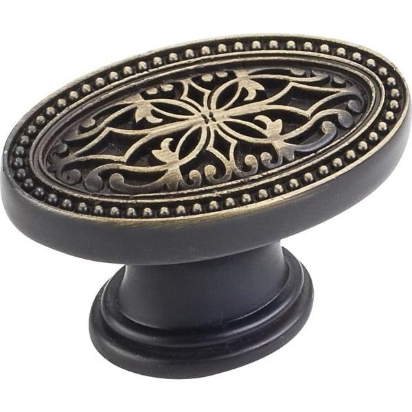 Jeffrey Alexander 112 Odessa 1-3/4 Inch Long Oval Cabinet Knob